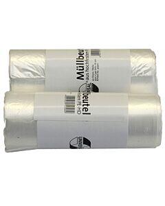 Deiss Universal Abfallbeutel 16L 450x540 transparent - Pack