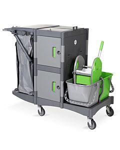 Brix School Premium Reinigungswagen