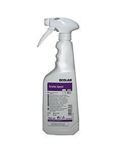 Ecolab Sirafan Speed 750 ml Schnelldesinfektionsspray, gebrauchsfertig