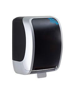 H1-HA Handtuchrollenspender, schwarz/weiß, Autocut-System
