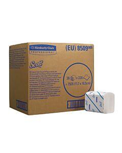 Scott Toilettenpapier, 2-lagig, Einzelblatt 7.920 Blatt