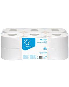 Papernet Over Soft Jumbo Mini, 2-lagig, 147 m Länge, Toilettenpapier