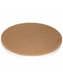 Melamine-Pad Premium weiß/beige