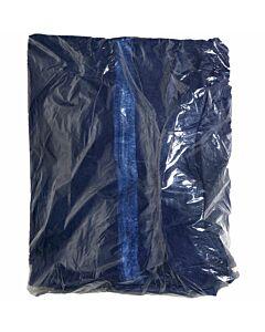 Overall blau mit Kapuze einzelverpackt
