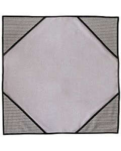 Unger ErgoTec Ninja MicroWipe, grau, Tuch mit Infokarte