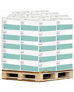 Toilettenpapier Basic, 2-lagig, 400 Blatt, Palette