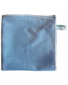 Microfasertuch No. 1, 40 x 40 cm, blau