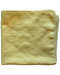 Microfasertuch No. 1, 40 x 40 cm, gelb