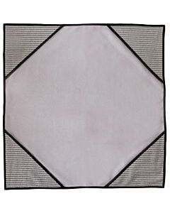 Unger ErgoTec Ninja MicroWipe, grau, 80 x 60 cm, Tuch mit Infokarte