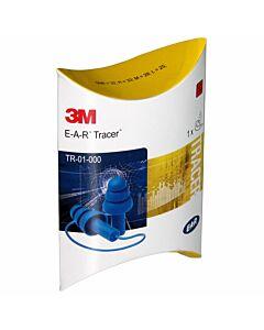 3M EAR Tracer Gehörschutzstöpsel mit Kordel blau