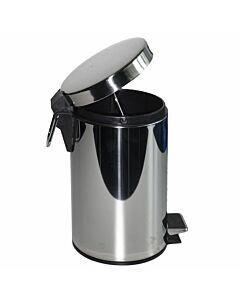 Metalltreteimer Edelstahl 3 Liter
