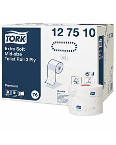 Tork Premium ToPa Compact hochweiß, 3-lg., 70 m, 27 Rollen
