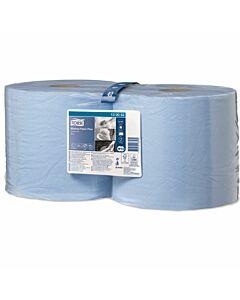 Tork starke Mehrzweck-Wischtücher blau, 2-lg., 750 Blatt