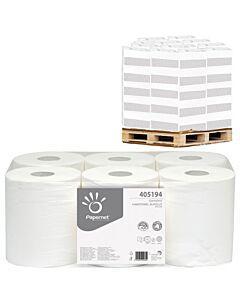 Papernet Standard, Autocut, 1-lagig, 185 m Länge, Handtuchpapier - Palette