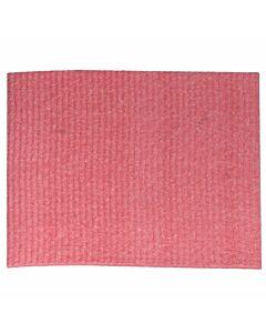 Schwammtuch, feucht, Größe 1, 19 x 21 cm rot