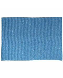 Schwammtuch, feucht, Größe 1, 19 x 21 cm blau