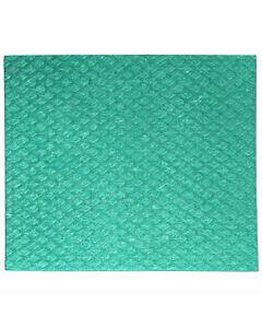 Schwammtuch, trocken, Größe 1, 19 x 21 cm grün