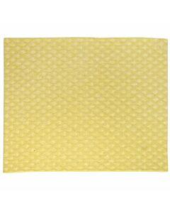 Schwammtuch, trocken, Größe 1, 19 x 21 cm gelb