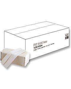 Basic Natur C-Falz Handtuchpapier, 1-lagig