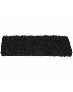 Ersatz-Pad, schwarz, 115 x 250 mm