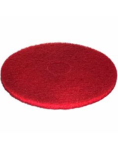 3M Super-Pad, Polyester rot, 410 mm Ø