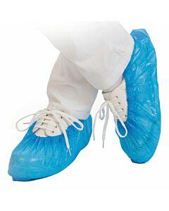 Hygostar Überziehschuhe CPE, 40my, blau, einweg