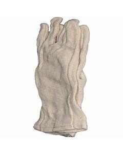 Baumwollhandschuh weißlich (Unterziehhandschuh)