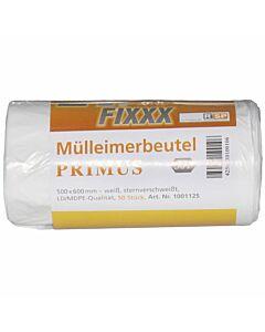 Müllbeutel Premium 30 L weiß 500 x 600 mm