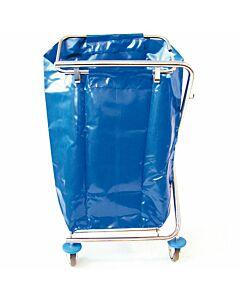 EVO Duo Kunststoff Dauerabfallsack blau