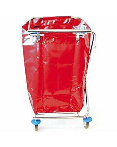 EVO Duo Kunststoff Dauerabfallsack rot