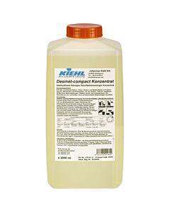 Kiehl Desinet-compact 2 l Konzentrat Flüssiges aldehydfreies Desinfektionsreiniger-Konzentrat (VAH-gelistet)