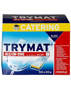Kleen Purgatis Trymat All-In-One 50 Tabs à 20g im Pack