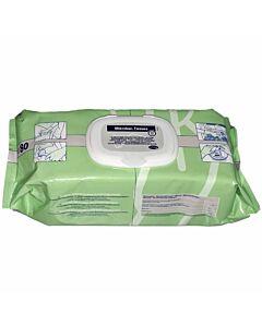 Bode Mikrobac Tissues Flow Pack mit 80 Tüchern Desinfektionstücher