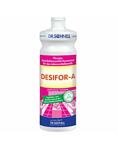 Dr. Schnell Desifor-A, DVG-gelistet 1 Ltr. Flächenreiniger