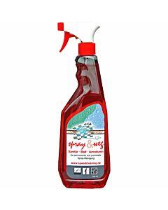 SC Speed Cleaning Spray & Weg Sanitärreiniger - Vorderseite