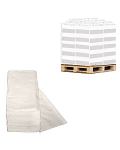 Handtuchpapier Vella, V-Falz, reiner Zellstoff, 2-lagig, 24,8 x 23 cm, Palette 21 Karton