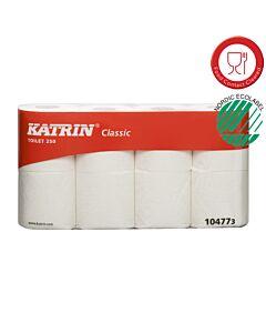 Katrin Classic Toilet 250, 2-lagig, 250 Blatt, Toilettenpapier