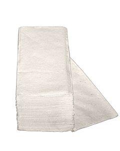Handtuchpapier, weiß, ZZ-Falz, 2-lagig, 4.000 Blatt