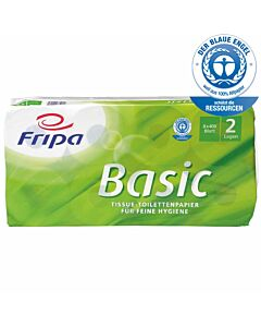 Toilettenpapier Fripa Basic, 2-lagig, 250 Blatt